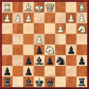 Black must not play Ne7?? here.