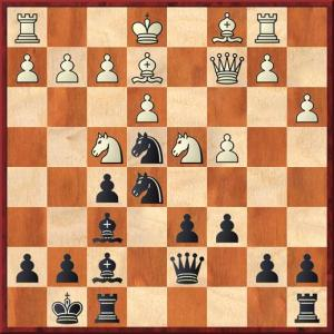 When I saw this move played I was initially concerned that I may have missed something but both knights can be kicked.