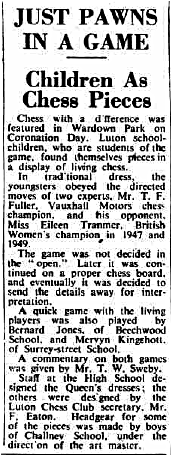 (Fig. 10) The Luton News, June 4th 1953