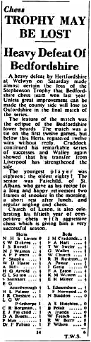 (Fig. 7) The Luton News Jan 14th 1954