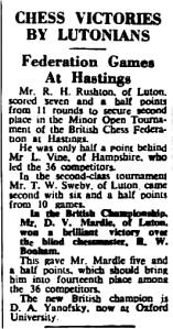 Fig.2 The Luton News, Aug 27th 1953