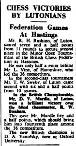 Fig.2 The Luton News, Aug 27th 1953