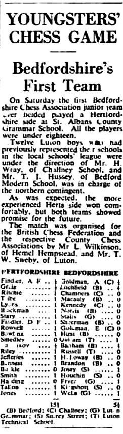 (Fig.6) The Luton News, Feb 4th 1954