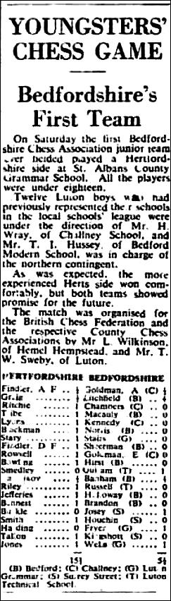 (Fig.6) The Luton News, Feb 4th 1954