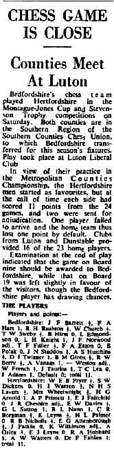 (Fig. 6) The Luton News Jan 15th 1953