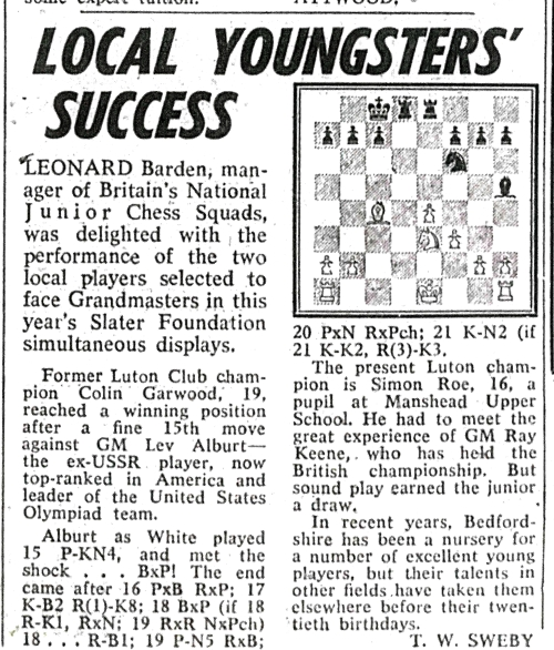 Fig 19, The Luton News June 29th 1981