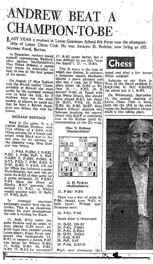 Fig.15 The Luton News Sept 12th 1968