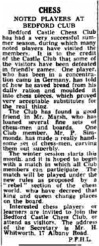 Bedfordshire Times and Standard, 6th October 1944