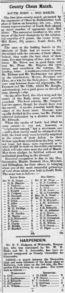 The Bedfordshire Advertiser  Friday March 11th 1904