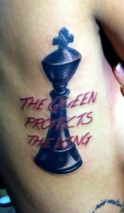 The-queen-protects-that-king-chess-tattoo