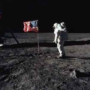 aldrin-salutes-american-flag